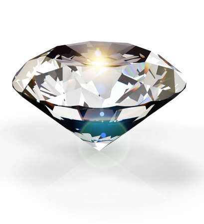 scintillate: Diamante Foto de archivo
