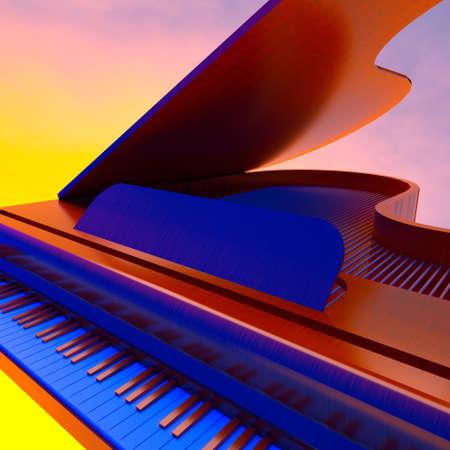 Grand piano Stock Photo - 11762309