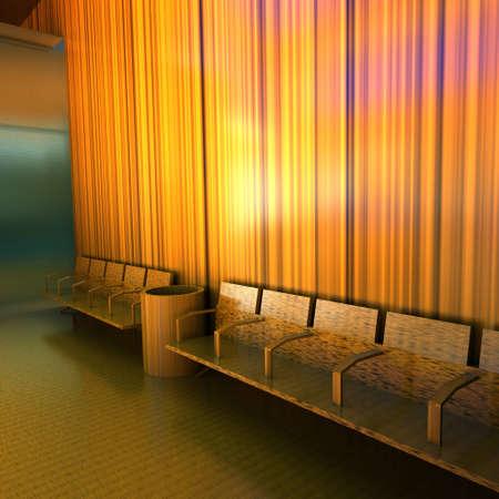 Modern empty lounge Stock Photo - 11763599