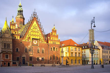 Old city hall of Wroclaw, Poland