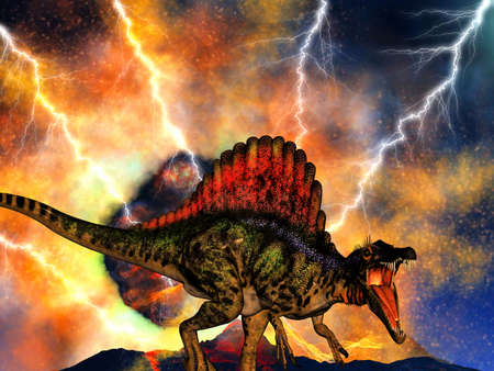 Dinosaur doomsday photo