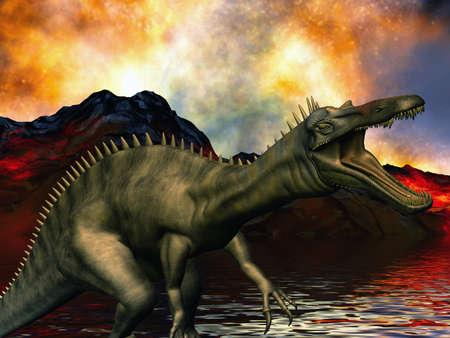Dinosaur doomsday photo