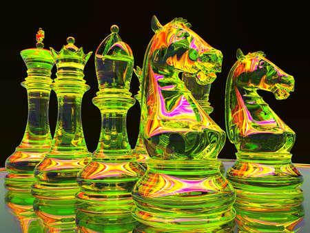 Chess battle photo