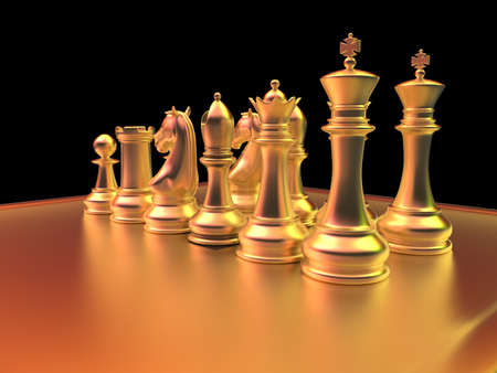 board games: Chess battle