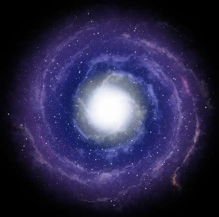 blue spiral: Spiral galaxy
