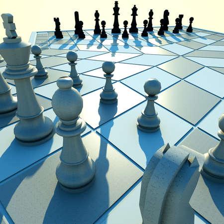 Schachmatt: Drei-Hand-Schach