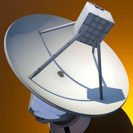 parabolic: Large Array satellite dish antenna Stock Photo