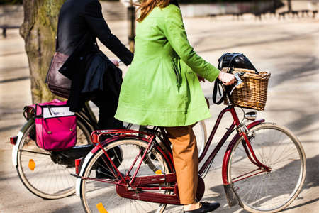 socialize: Together on bicycles