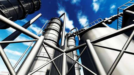refinería de petróleo: Refinería