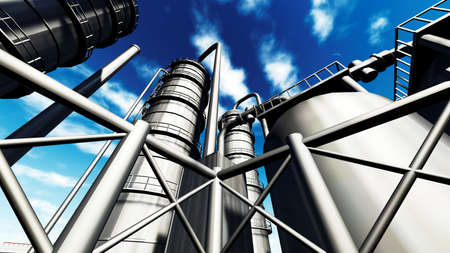 oil refinery: Refinery