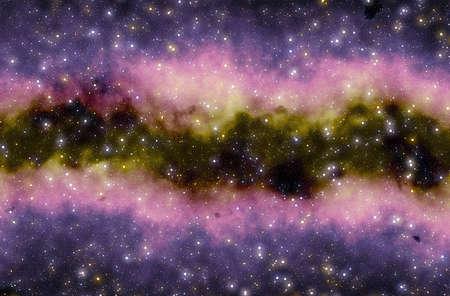 Colorful space star nebula Stock Photo - 13508120