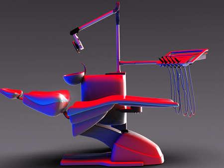 medical cabinet: Dental chair