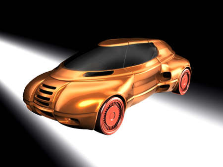 Concept car Stock Photo - 13668014
