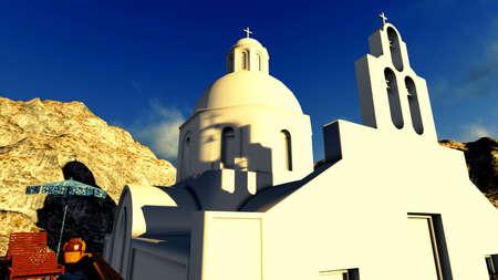 Santorini, Oia photo
