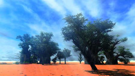 African savannah photo