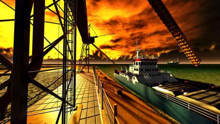 Shipyard Reklamní fotografie