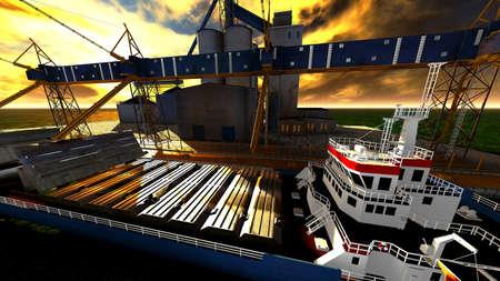 Shipyard photo