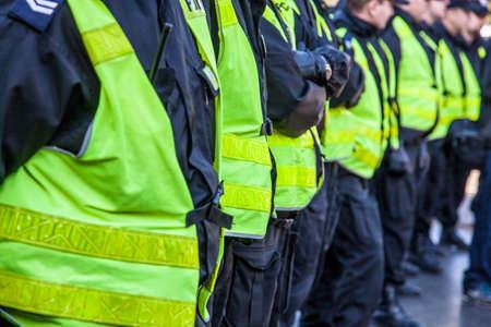conflictos sociales: Actuaci�n de la polic�a en la calle