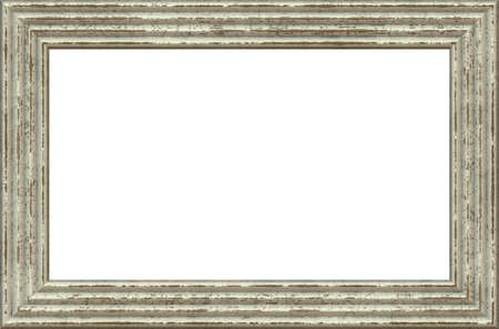 baroque picture frame: vintage empty frame Stock Photo