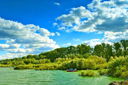 Otmochow Lake, Poland 版權商用圖片