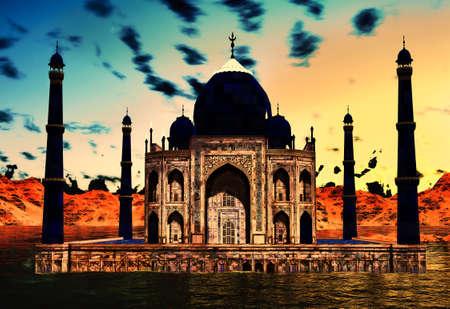 Taj Mahal Reklamní fotografie - 16253114
