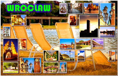 wroclaw: European city in collage