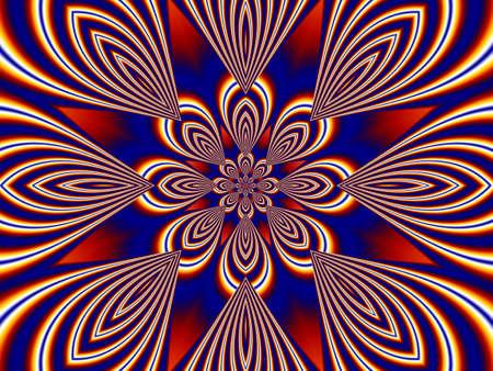 Awesome fractal background Stock Photo - 16413232