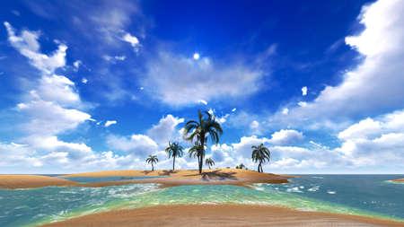 hawaiian flower: Hawaiian tranquility - paradise on Earth