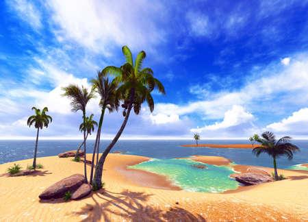 Hawaiian paradise Reklamní fotografie