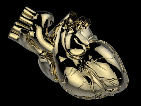 artificial model: artificial human heart