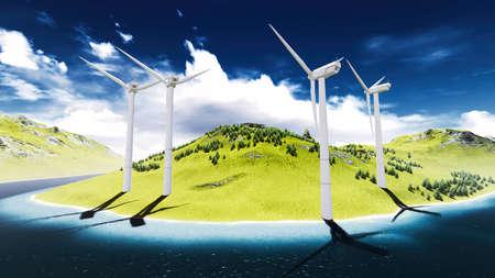 onshore: Wind turbines onshore