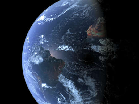 vast: South America seen from space