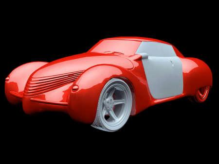 Generic   model of car photo