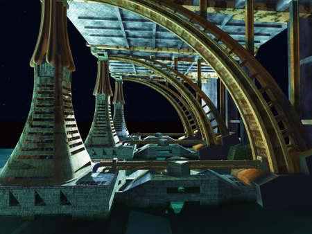 scifi: Alien City