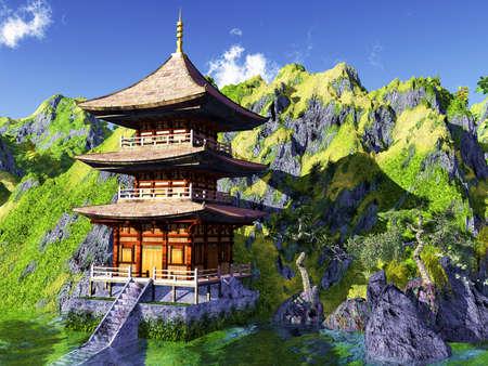 Zon tempel - Boeddhistische heiligdom