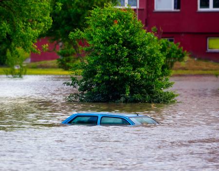 浸水通り 写真素材 - 23332556
