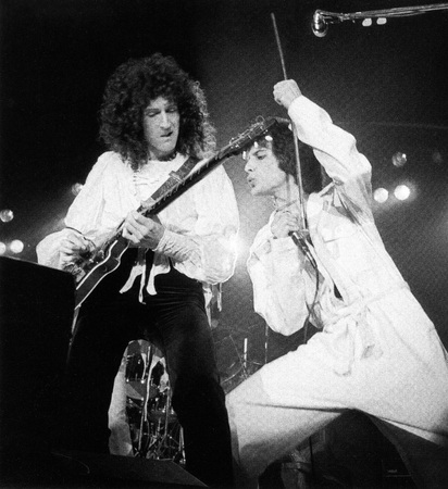 Queen concert - A day at the races in 1976