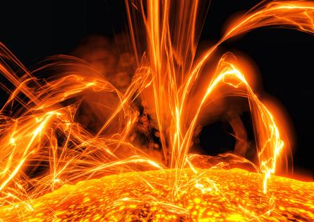 Surface of the sun Reklamní fotografie
