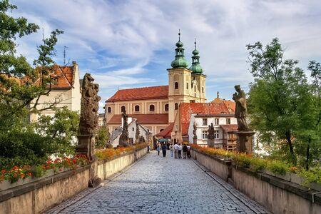 Klodzko, baroque replica of the Charles Bridge in Prague