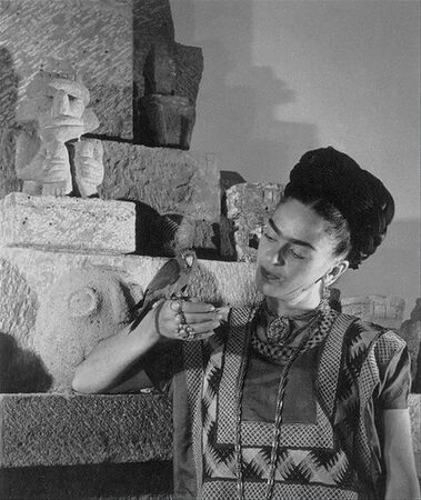 Frida Kahlo de Rivera 1907-1954 , famous Mexican painter