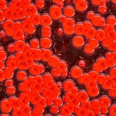 Human blood cells seamless 3d rendering Reklamní fotografie