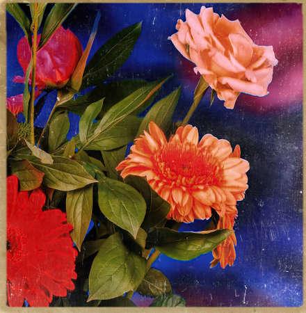 vintage Floral composition - still life