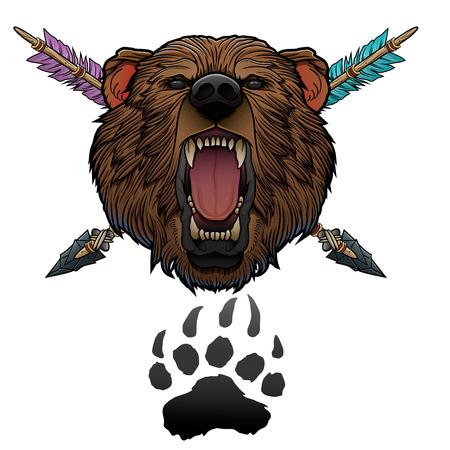 roaring bear totem