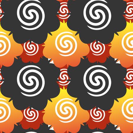 borneo rose color pattern background 向量圖像