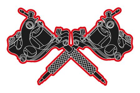 tattoo machines 版權商用圖片