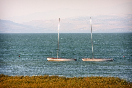 Couple, Sea of Galilee photo