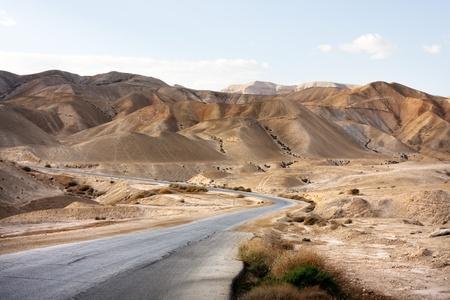 judean desert: Empty Road, Judean Desert