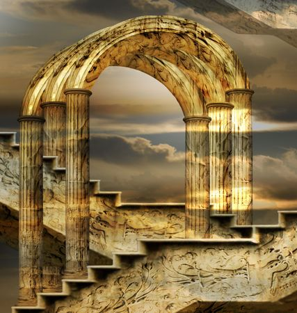 Arches Of Possibility - Italian imagination, collection of surreal