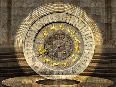Venetian Clock - Italian imagination collection of surreal