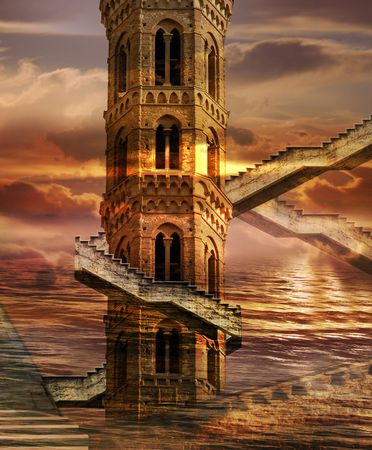 Ethereal Towers - Italian imagination collection of surreal